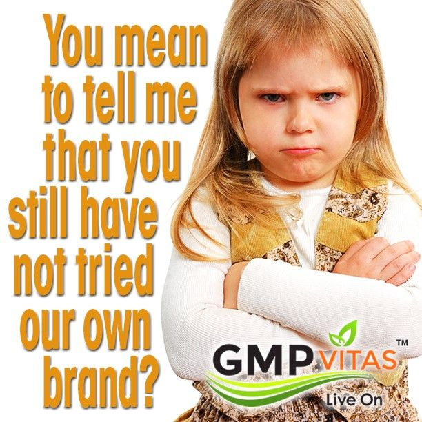 We understand. Sometimes changing over or trying something new can be a bit scary. Not to worry though because all our products are certified and regulated by the FDA and therefore should give you reassurance that you are indeed purchasing a quality product. We also have a continuous growing client base that backs our word in satisfaction. Visit us at GMPvitas.com to see many of our new products made specifically for you… our valuable customer. Stay well informed my friends.
