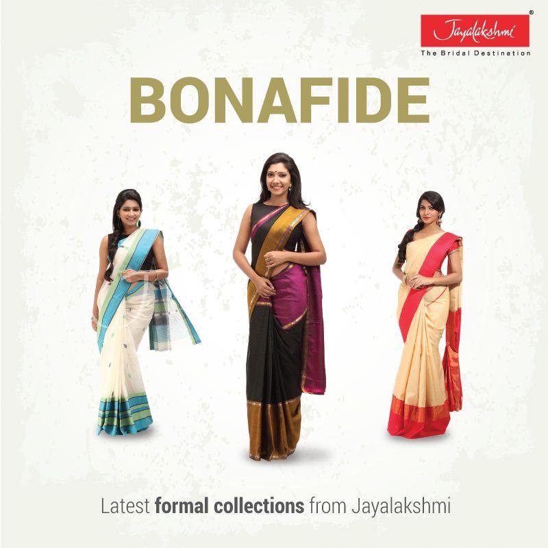 Formal Saree Collection From Jayalakshmi