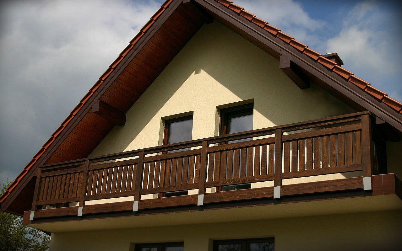 Balkonowe Balustrady Drewniane Balkon System Domy W 2019