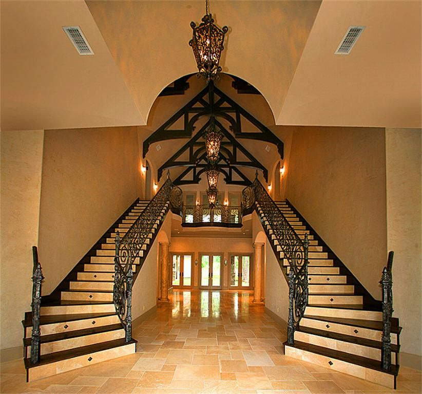 Stairway & ceiling Building a house, Stairs, Stairways