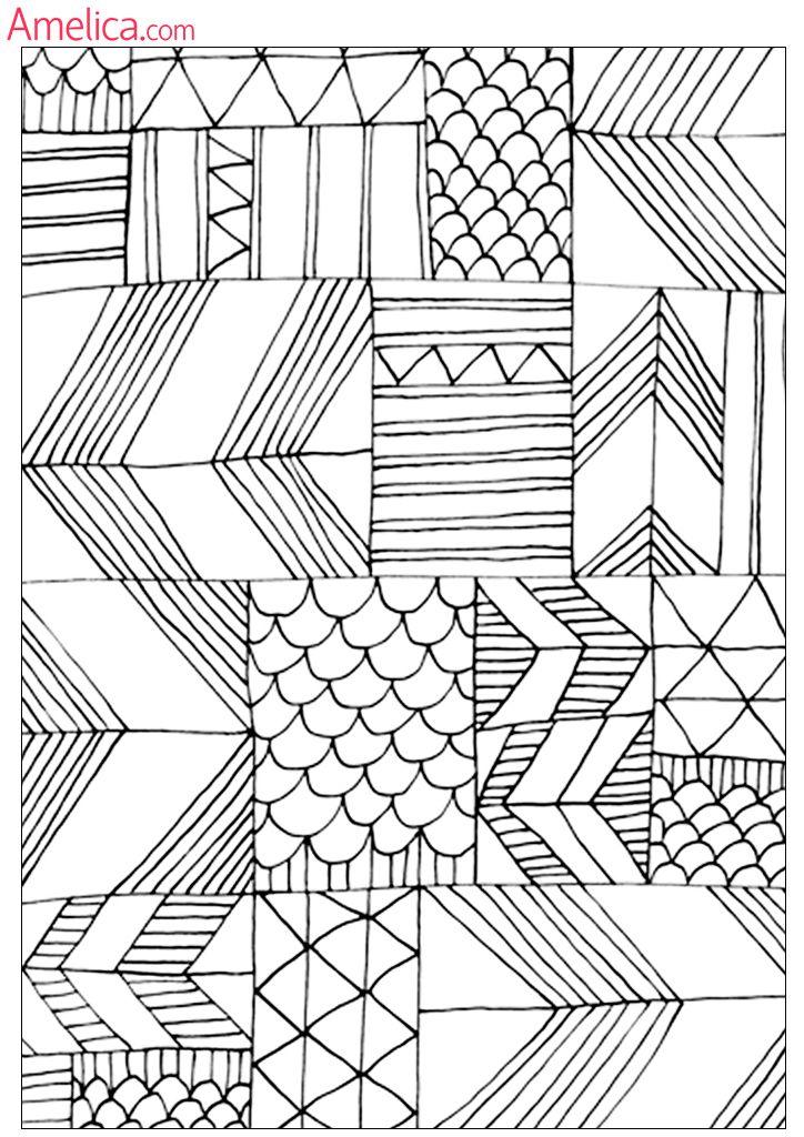 антистрессовые раскраски распечатать для взрослых   Quilts