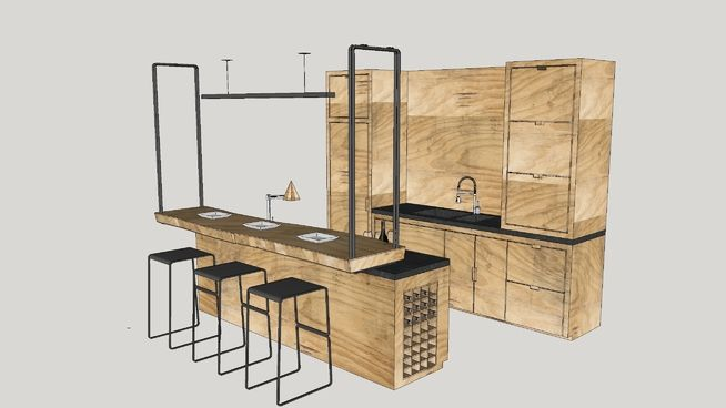 Kitchenette - 3D Warehouse