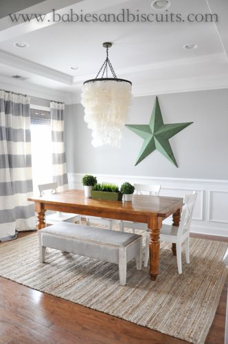 light french gray by sherwin williams pottery barn table called