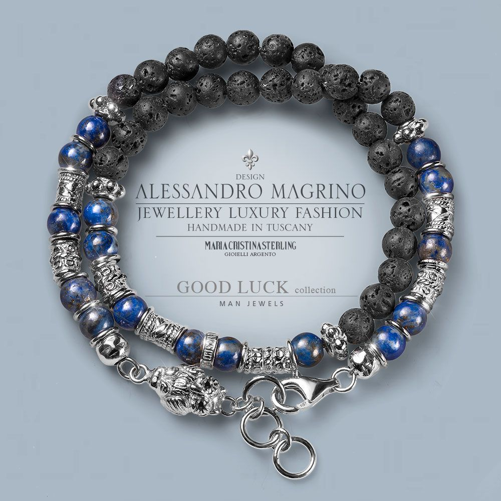 Luxury good luck man jewels accessori portafortuna precious