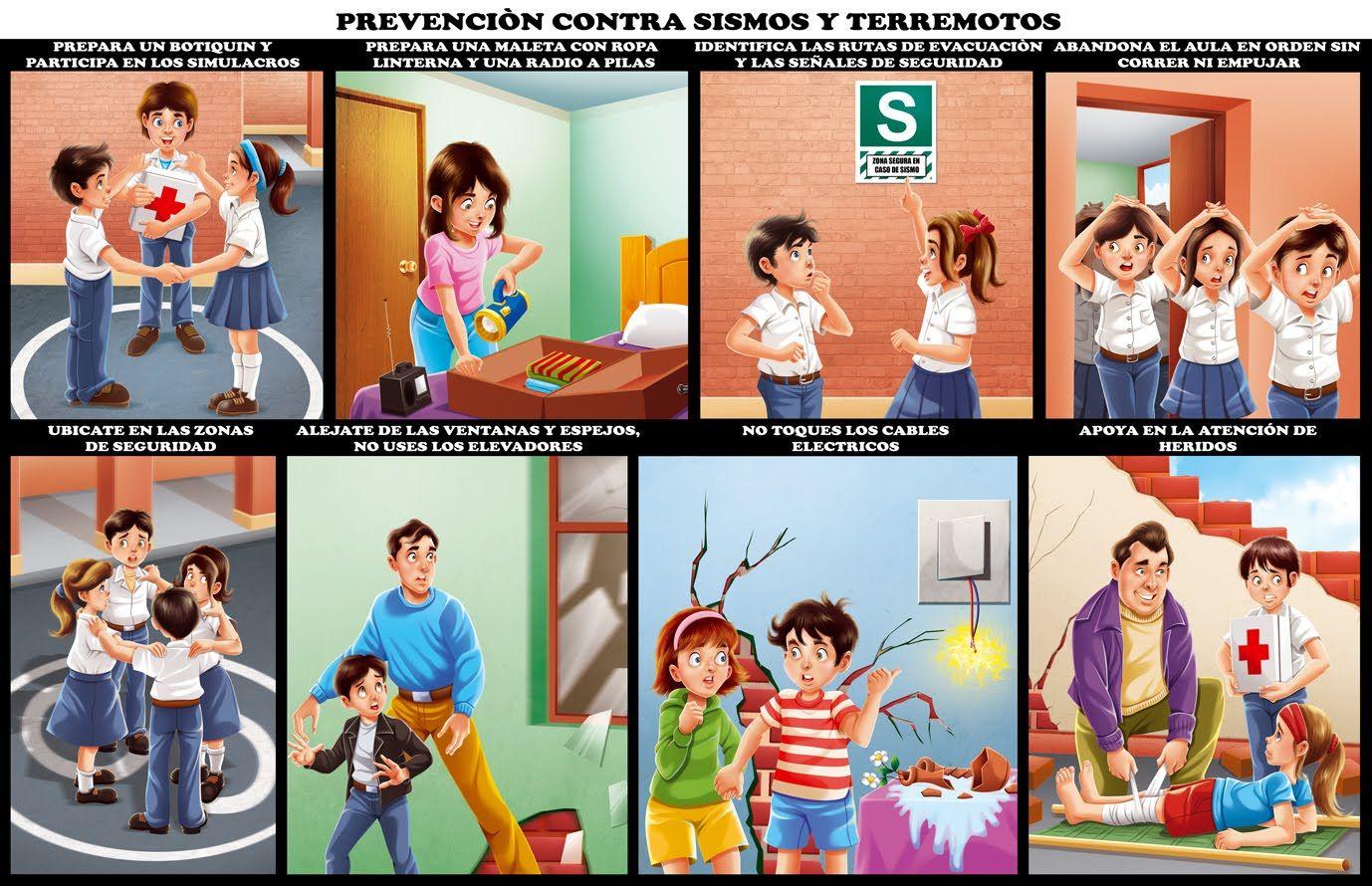 Resultado De Imagen Para Medidas Ante Un Terremoto Imagenes De Sismos Libros De Lectoescritura Actividades De Aprendizaje Para Niños
