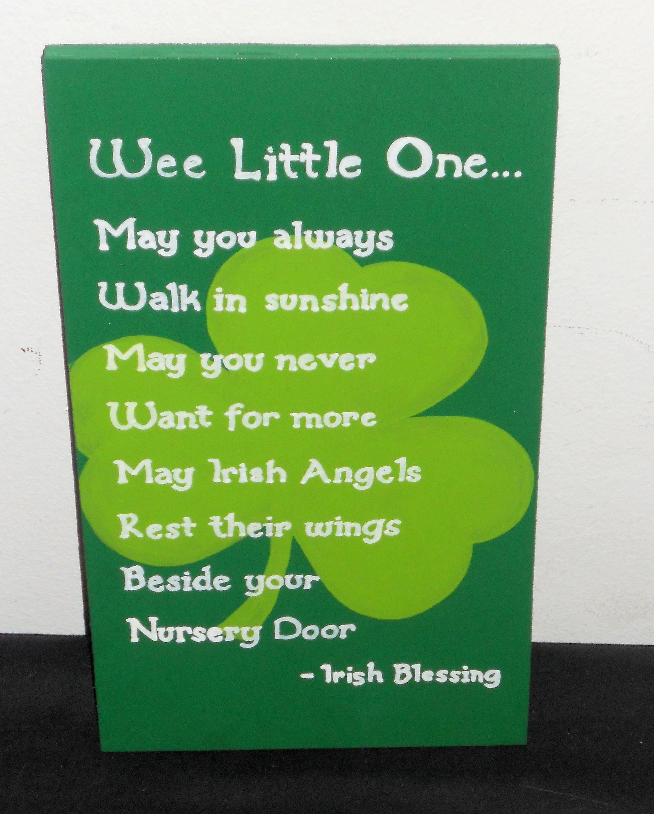 Irish Baby Blessings  Irish Baby Blessing