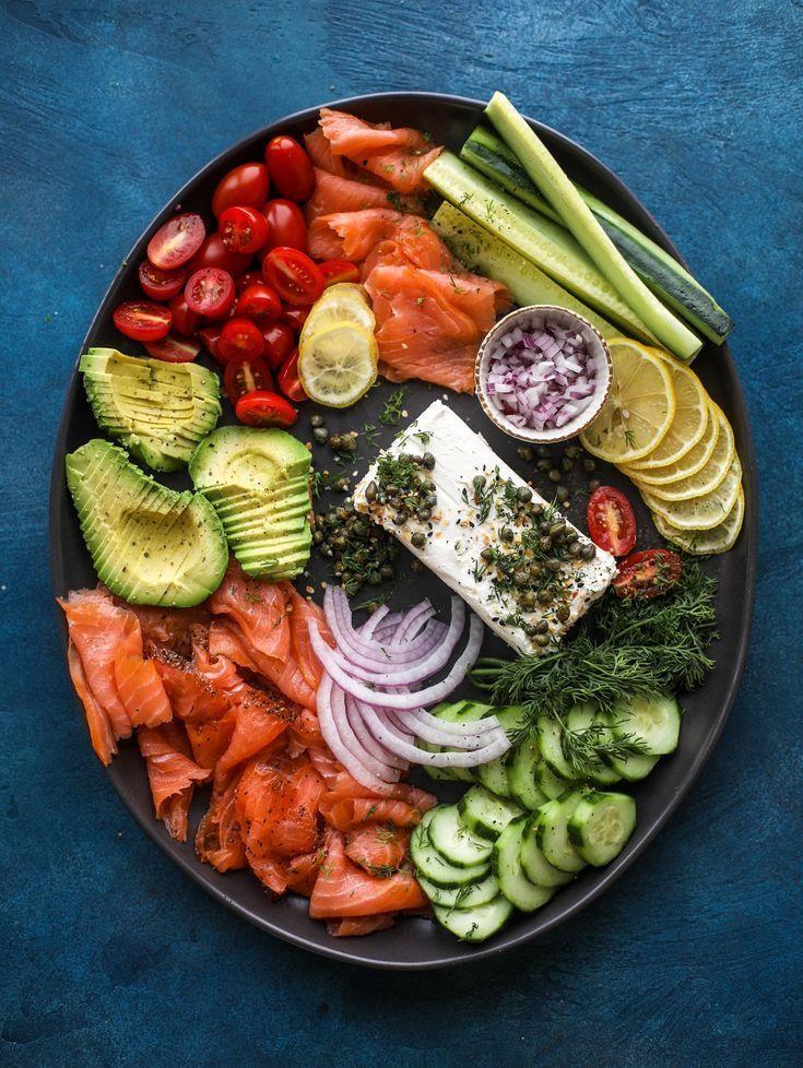 Smoked Salmon Platter - How to Make a Smoked Salmon Platter