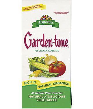 Espoma Garden Tone Organic Gardening Plant Food Plant Food