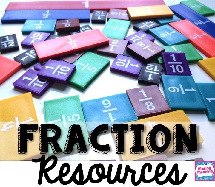 Fourth Grade Fractions Unit   Improper fractions, Comparing ...