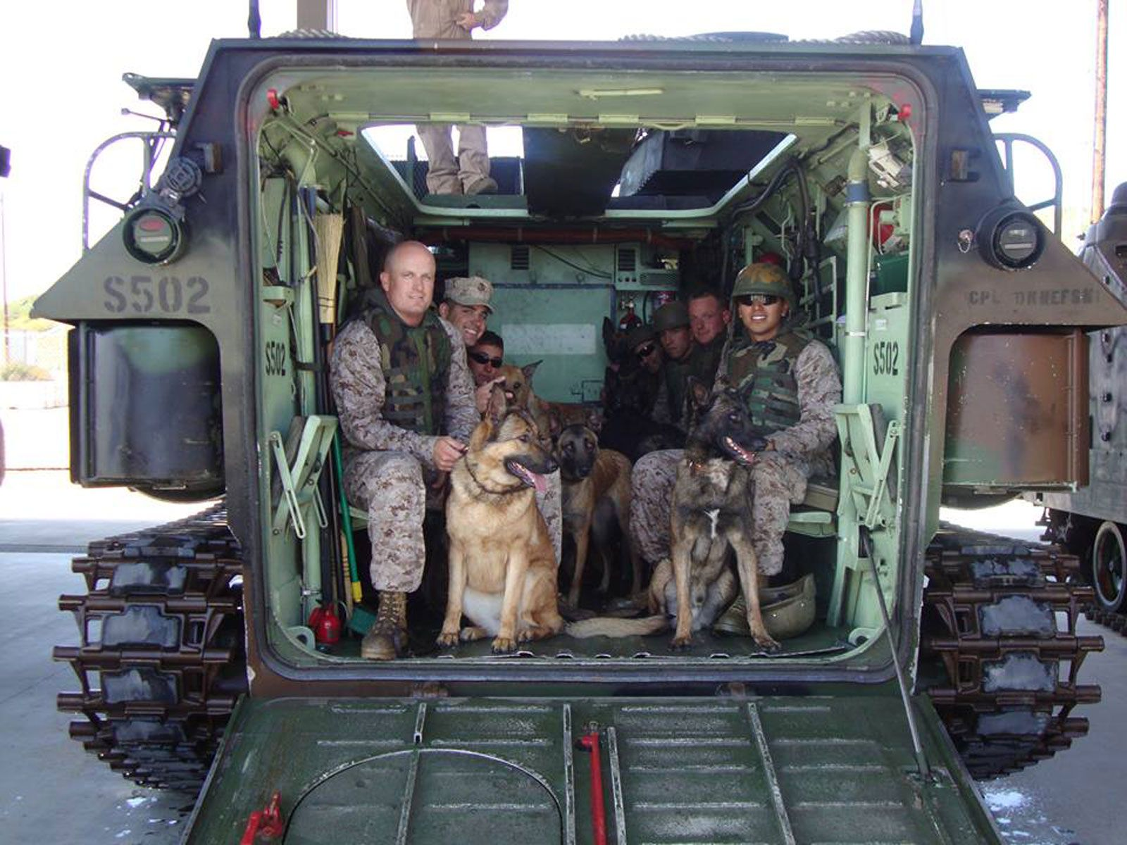 Parade's cover story this weekend, an excerpt from the forthcoming book Top Dog, tells the story of Lucca, a German Shepherd-Belgian Malinois mix who led special forces soldiers onto a battlefield in Afghanistan's Helmand River Valley in March of 2012 and lost her left front leg in an IED explosion. Here, a few images that [...]
