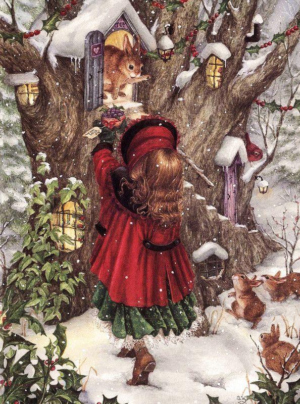 weihnachtsbilder weihnachten #weihnachten illustrations de susan wheeler - Page 4 - #de #illustrations #Page #susan #wheeler #vintageweihnachten