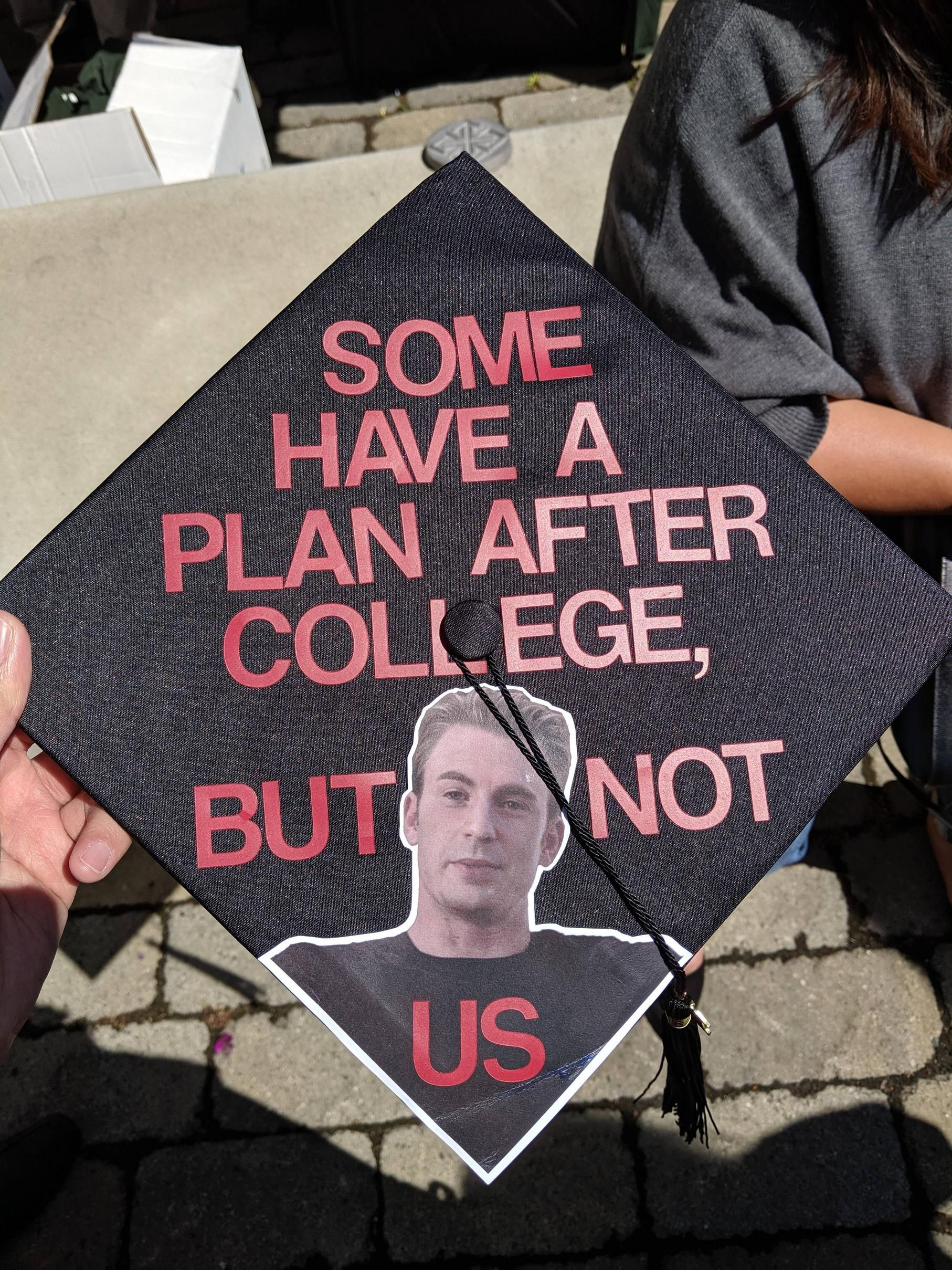 Are Any Of You Guys Hiring High School Graduation Cap Funny Graduation Caps Graduation Funny