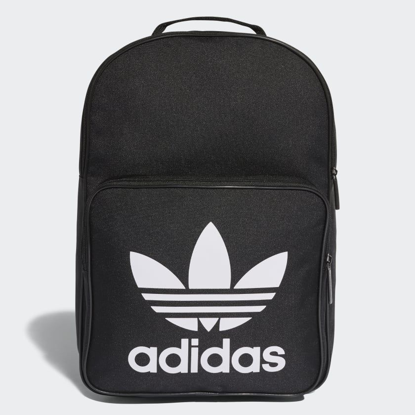 Trefoil Backpack Svart DJ2170 | Väskor, Ryggsäck, Adidas