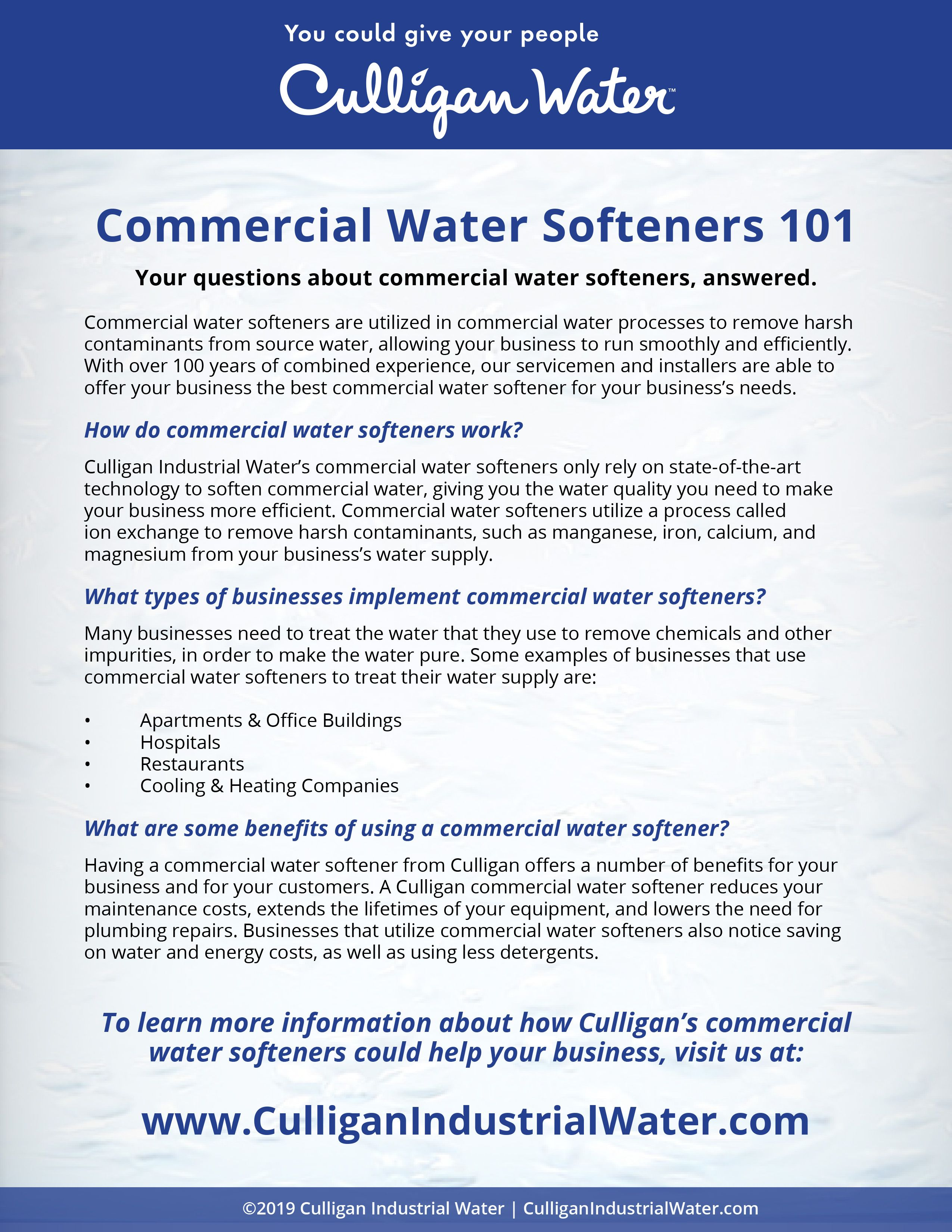 Commercial Water Softeners Water Softener Water Treatment System Commercial