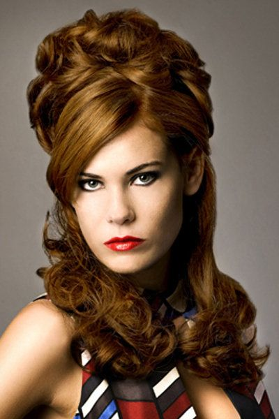60s hairstyles women with long