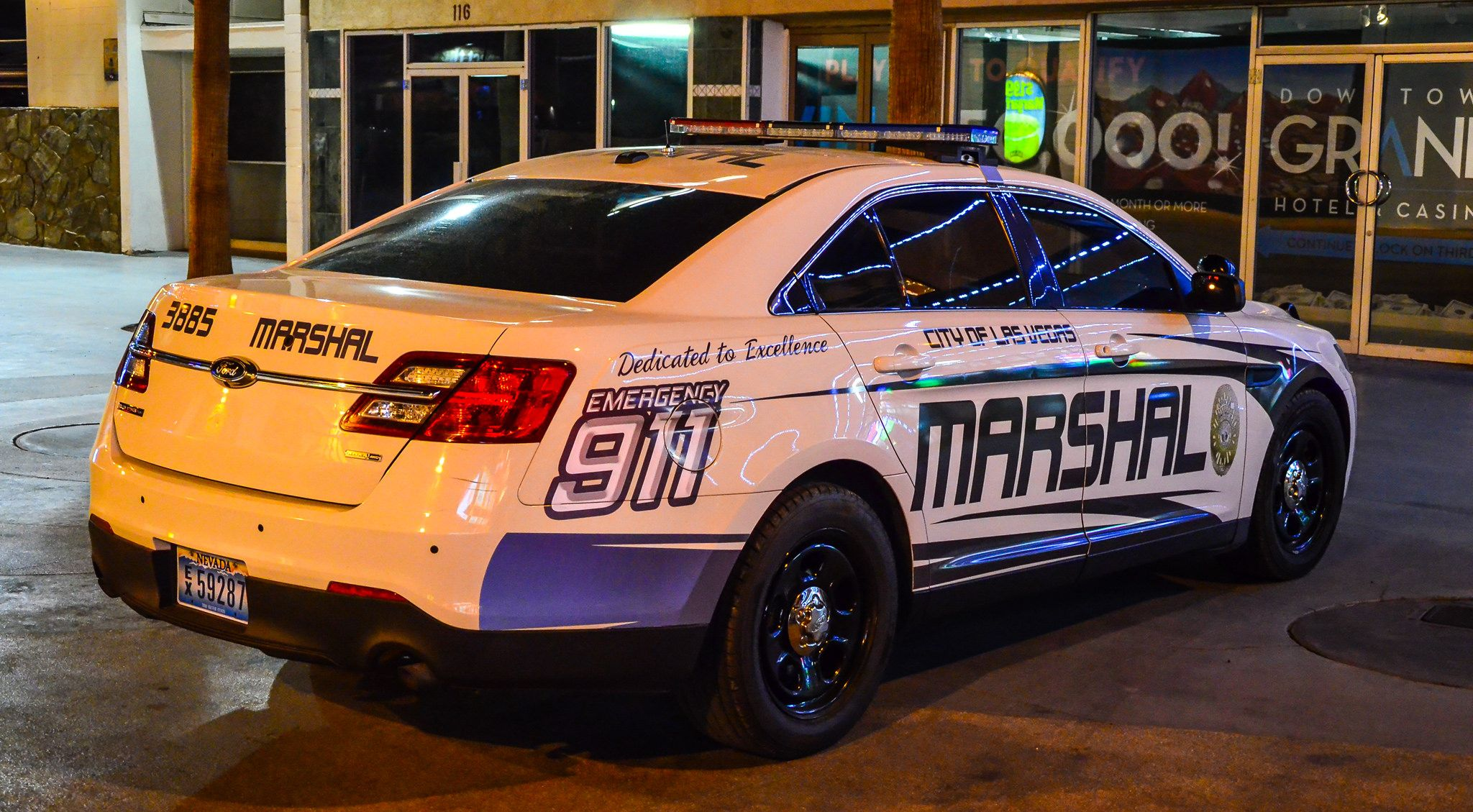 Marshal Officer Department Of Detention And Enforcement City Of Las Vegas Nevada Las Vegas City Fremont Street Experience Nevada