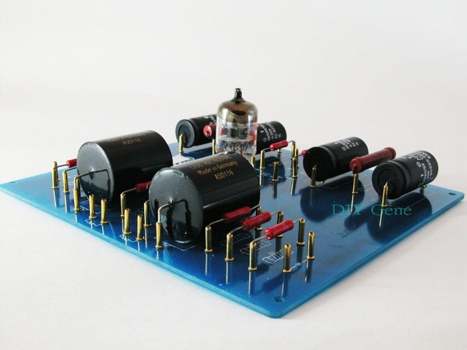 Hi End Audio Diy Tube Pre Amplifier Kit 6h30 Tube Ga 25 New Electronic Gadgets Audio Diy Speakers
