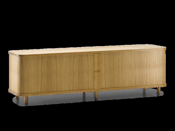 Tonda Rolloschrank Inkl 2 Fachbretter B 200 Cm X T 50 Cm X H 57 6 Cm Turfullung Holz Eiche Mobeldesign Haus Haus Deko