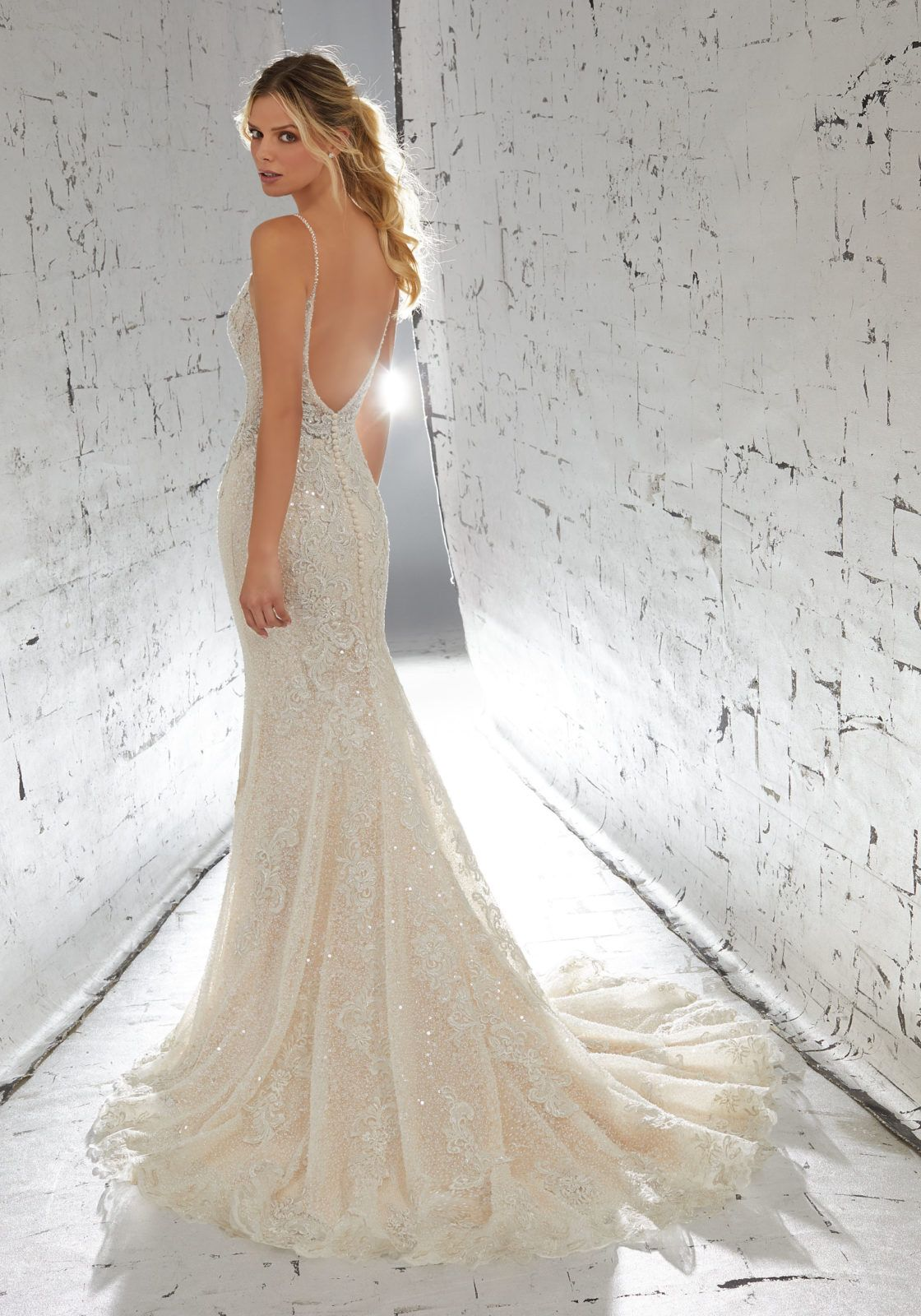 Mori lee madeline gardner wedding dress  Laurette Wedding Dress  AF Couture Fall u  Morilee by Madeline