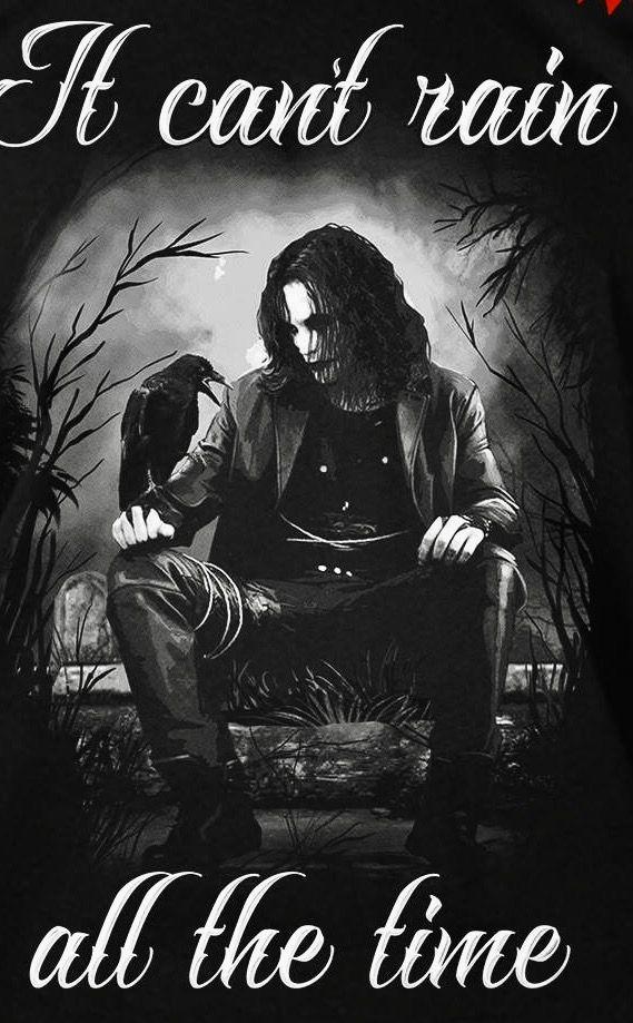 The Crow aka Eric Draven in 2019 Crow art, Crow movie, Crow