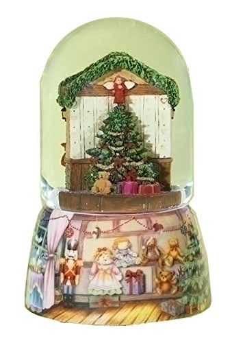 Christmas toy shop rotating glass musical snow globe httpwww christmas toy shop rotating glass music snow globe glitterdome tall plays tune have yourself a merry little christmas solutioingenieria Image collections