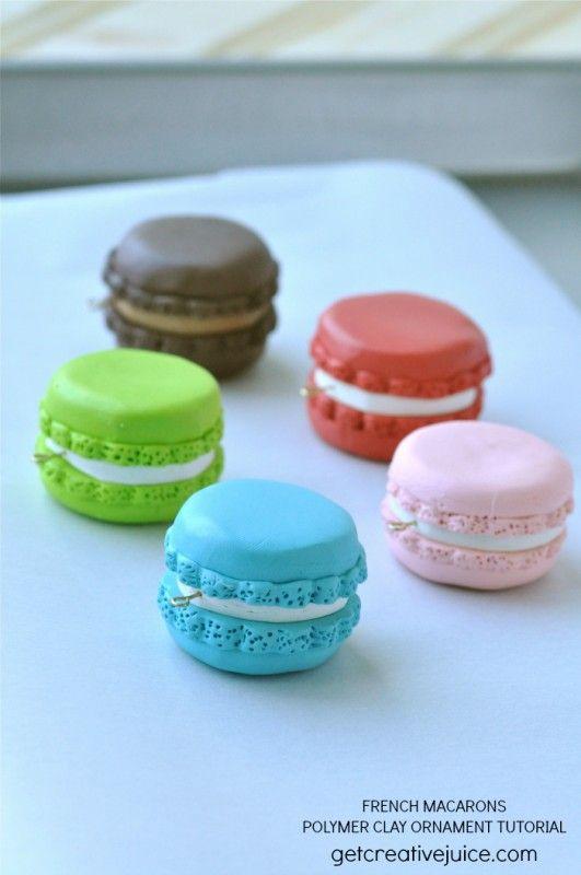 {tutorial} French Macaron Ornaments - Creative Juice