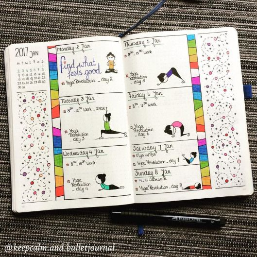 Tons of Bullet Journal Weekly examples to help you organize your life | Zen of Planning | Planner Pe...