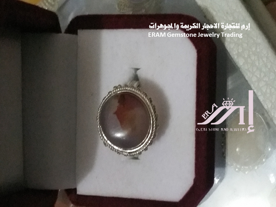 خواتم نسائي غلى شكل الشمس والفص لعقيق طحلبي طبيعي 100 Agate Gemstone Jewelry Gemstones Gemstone Rings