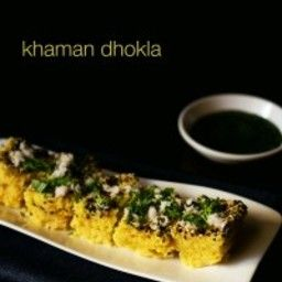 Instant khaman dhokla or khaman things to wear pinterest khaman dhokla recipe with step by step photos in recipe details i have shared dhokla recipe for microwave steaming method i have made moong dal dhokla forumfinder Images