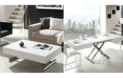 Mesa de centro autom tica elevable y extensible mesa de sal n que se convierte en mesa de - Mesas de centro que se elevan ...