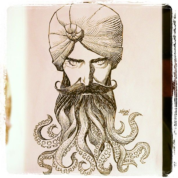 Captain Nemo Sketch By Dave Johnson Inspirational Must Haves