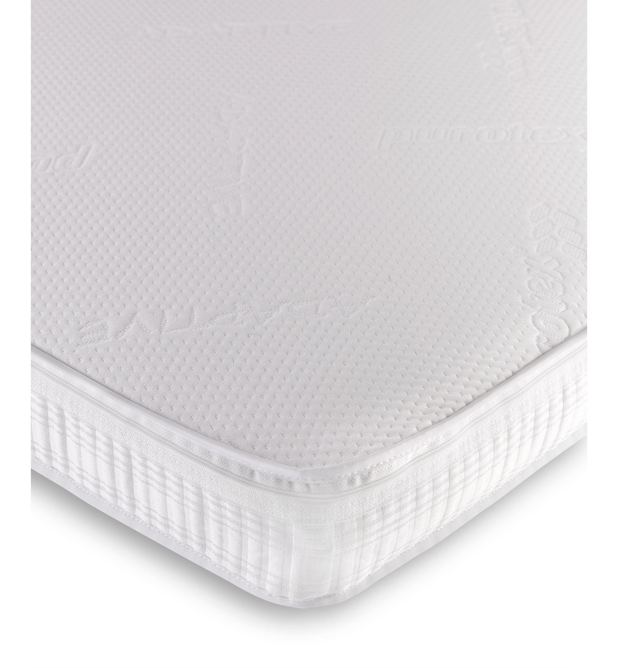 38 X 89cm Crib Mattress Bought Mothercare Adaptive Purotex Pocket Spring Cot Bed