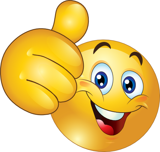 thumbs up happy smiley emoticon clipart royalty free beginning rh pinterest com smile clip art smiley clip art images