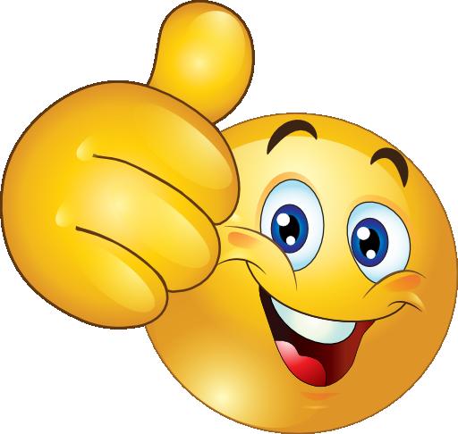 Bilderesultat for smiley face thumbs up