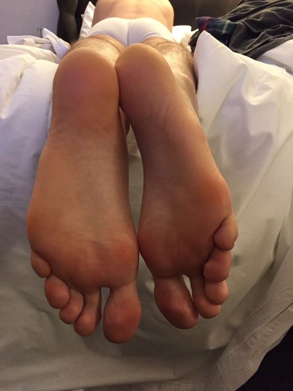 "feetboy81: ""Big soft German soles """