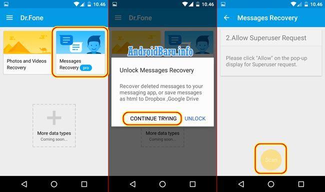 Cara Mengembalikan Sms Yang Terhapus Di Android Tanpa Pc Komputer