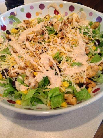 Chipotle Chicken Salad Blog Favorites Pinterest Salad