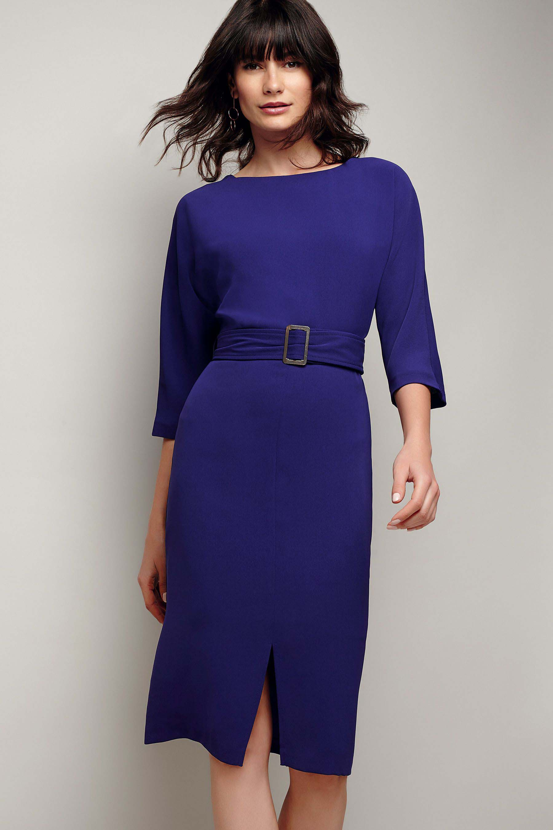 Womens Phase Eight Violet Cristabel Dress Purple Dresses Dresses For Work Purple Dress