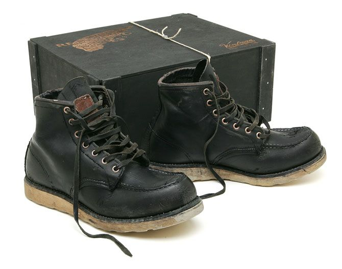 Vintage 55 x Red Wing Shoes | Vintage, Man style and Shoes