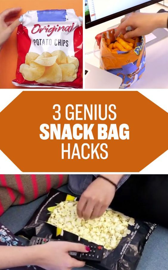 Learn how to seal your chip bag without a clip (and two other useful chip bag…