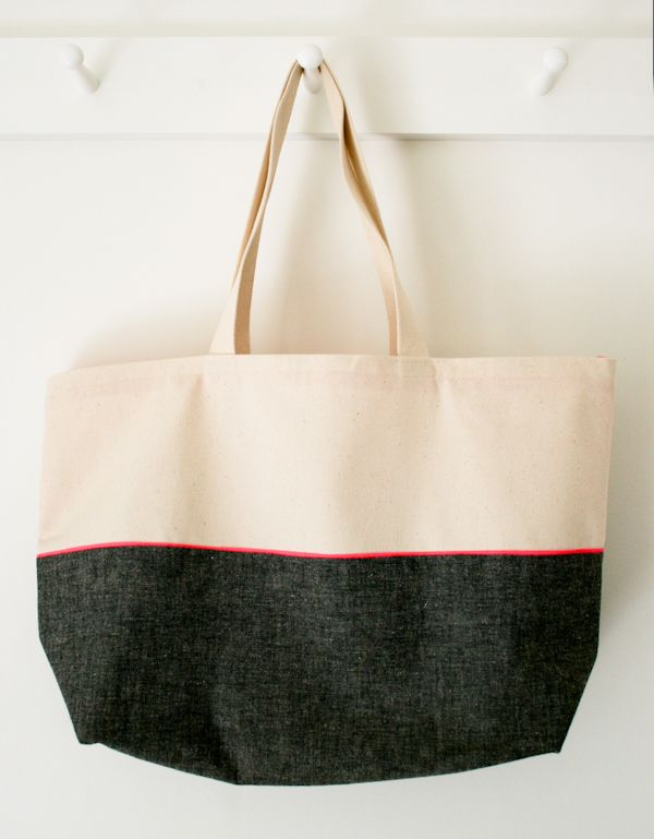 Molly\'s Sketchbook: Everyday Tote - The Purl Bee - Knitting Crochet ...