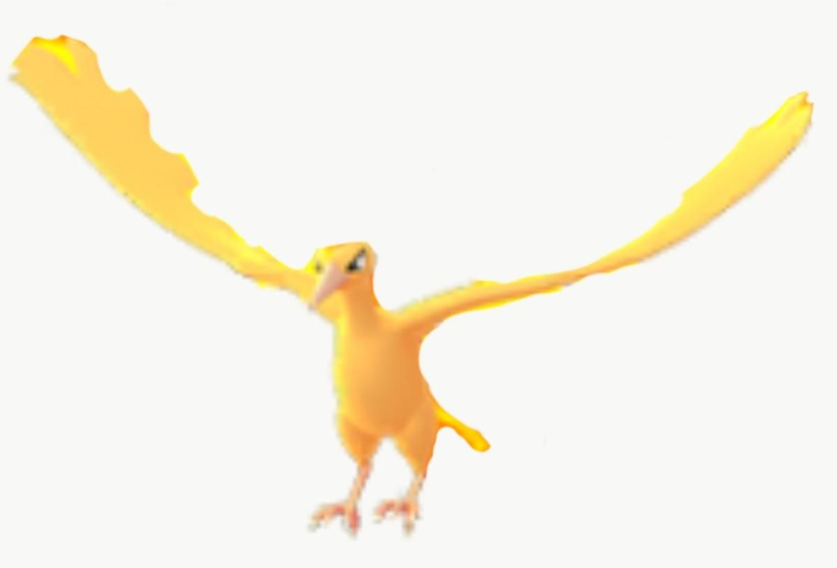Moltres Without Fire Pokemon Go Moments Fire