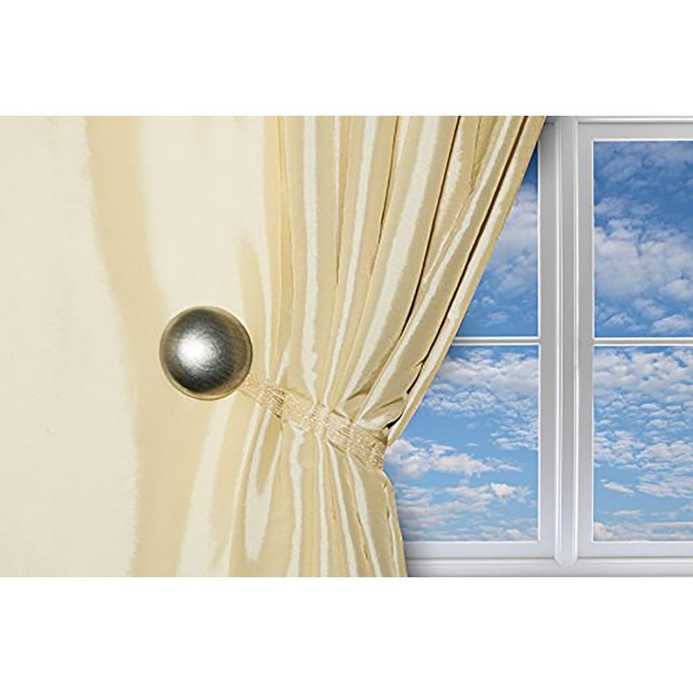 Magnaclips 10 In Curtain Clips Tiebacks Or Holdbacks In Silver