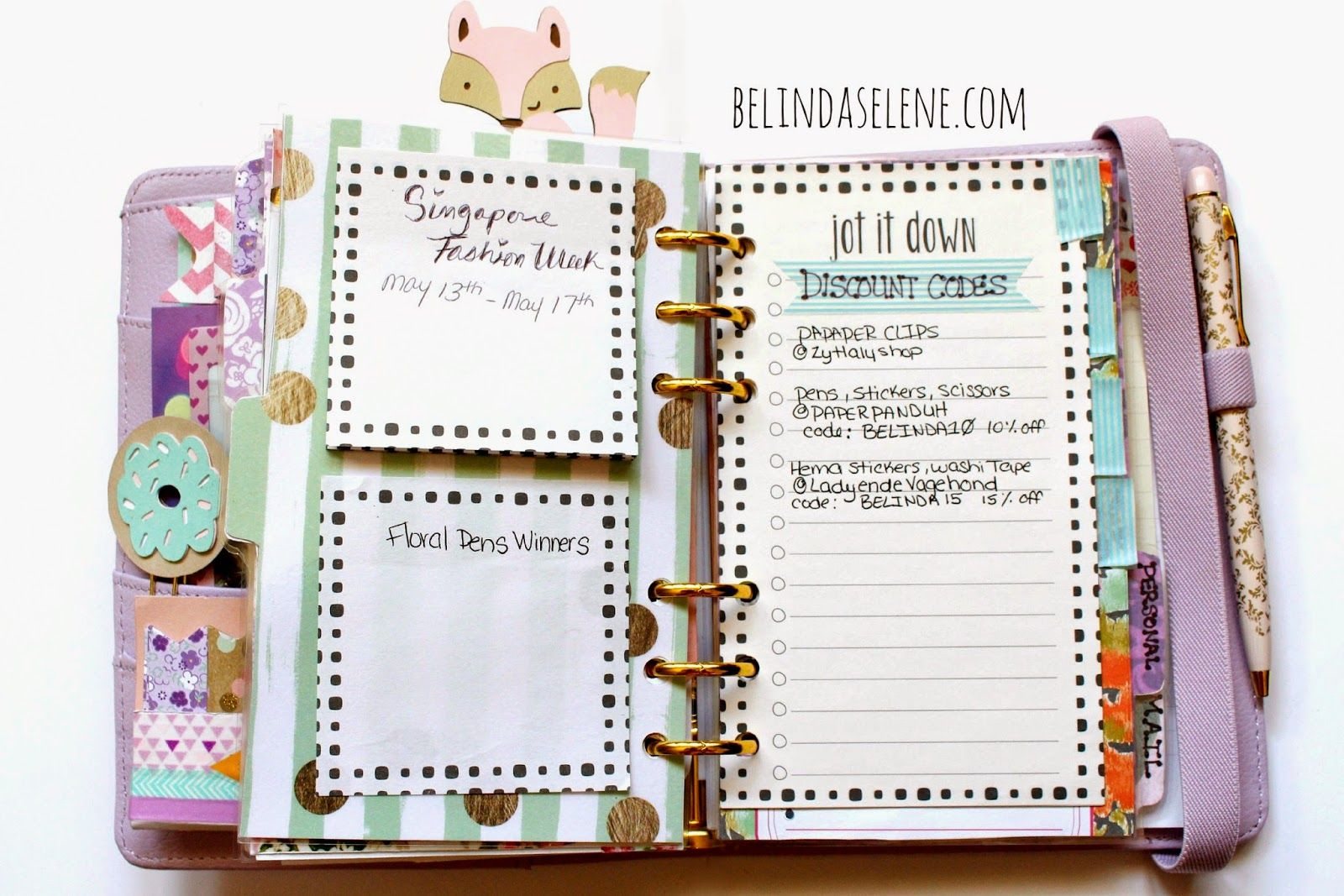 Make Your Planner Super Organized And Super Cute You Ll