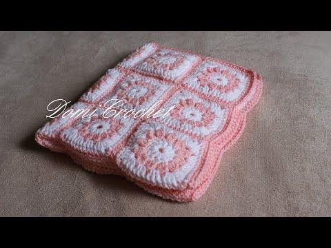 c5cbc1609 Háčkovaná deka pre bábätko - YouTube Háčkovanie Pre Bábätká, Háčkované  Štvorce, Háčkované Deky,