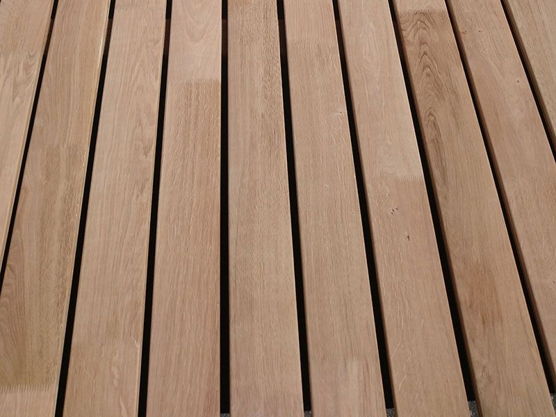 Terrassenholz Aus Eiche Terrasse Holz Eiche Holz