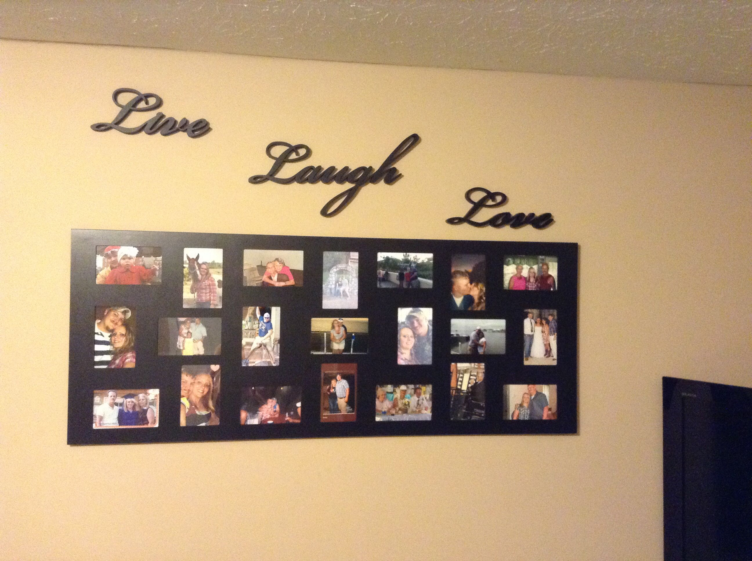 diy photo collage | Home ideas | Pinterest | Bricolaje y Collages
