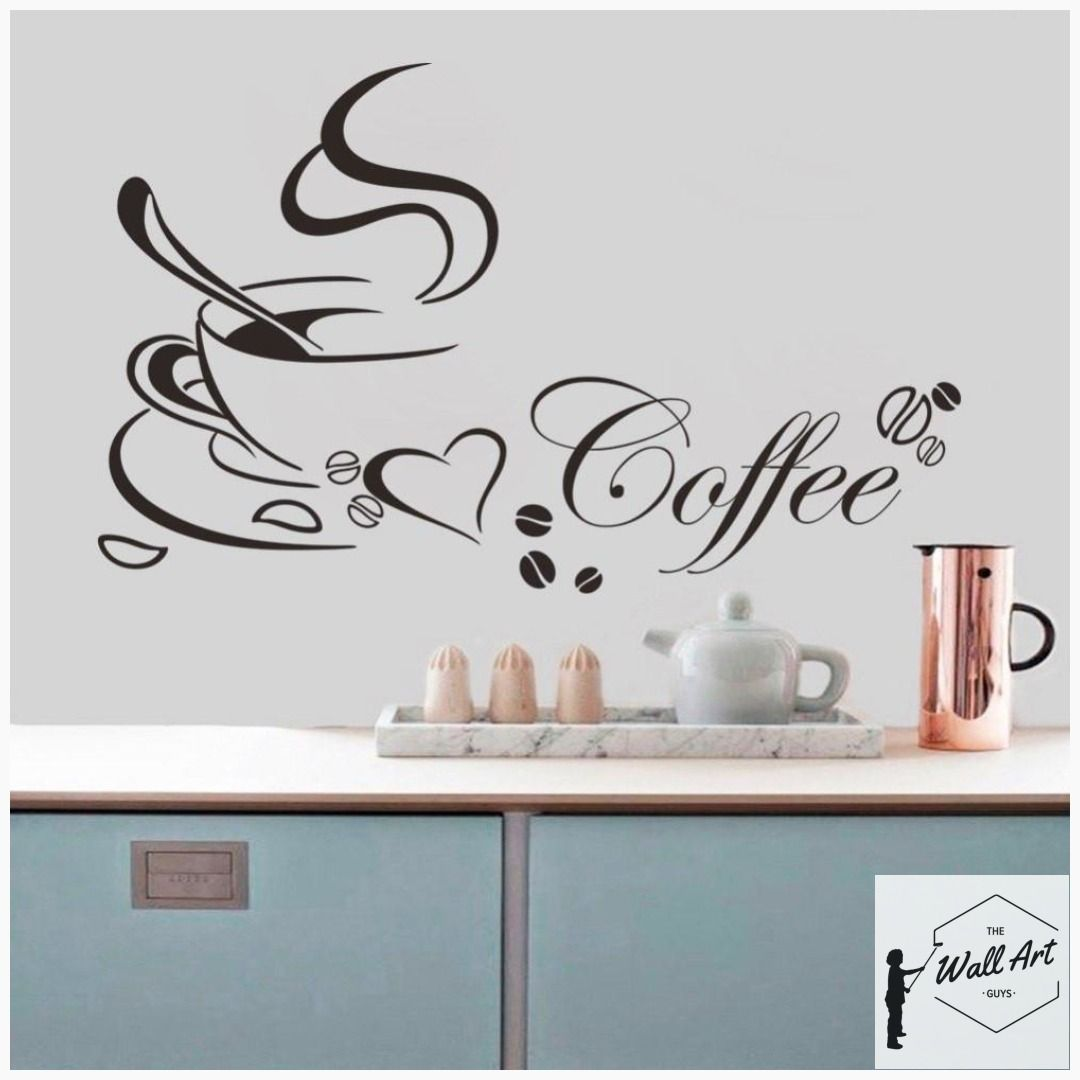 removable Home decor Wall art stickers for kitchen quality DIY decal quotes