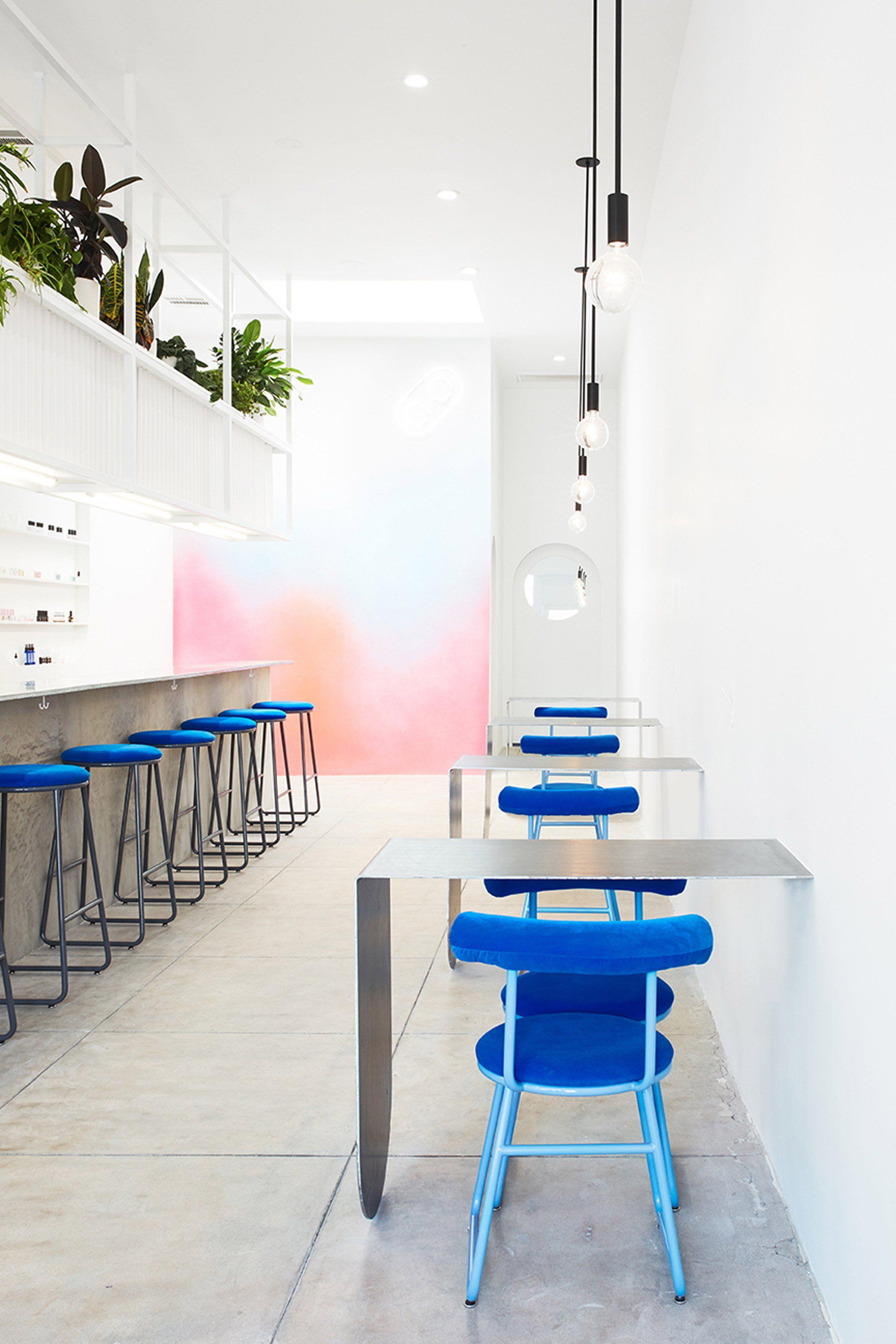J Byron-H designs minimalist nail bar in Los Angeles | Interiors ...