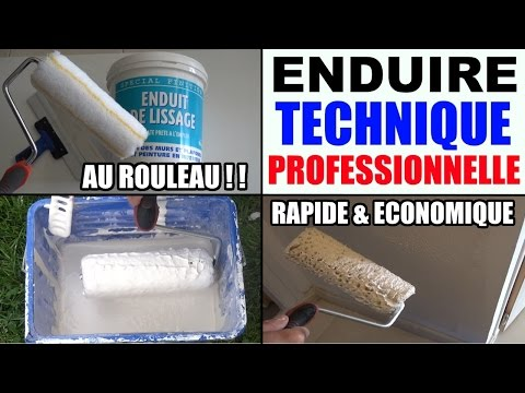Enduire Un Mur Interieur Technique Professionnelle Youtube
